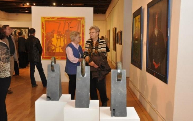 Vernisáž výstavy k 50. výročí otevření Galerie Slováckého muzea