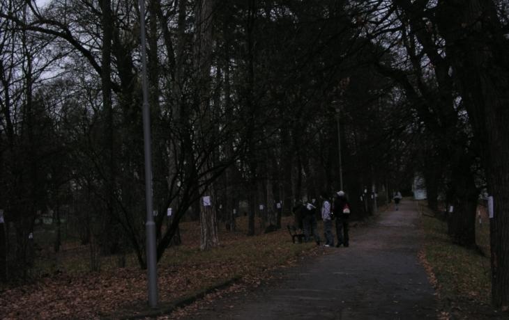 Veřejná diskuze o parku