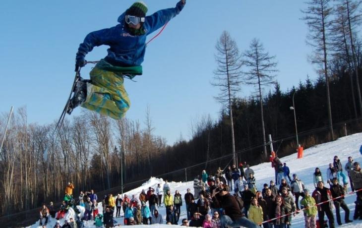 Snowboardistům kraloval Švejcar