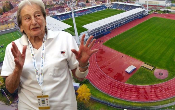 Ponese stadion jméno Dany Zátopkové?