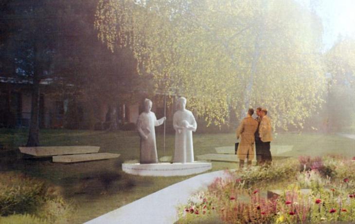 Osvětimany postaví sochu sv. Cyrilovi a Metodějovi