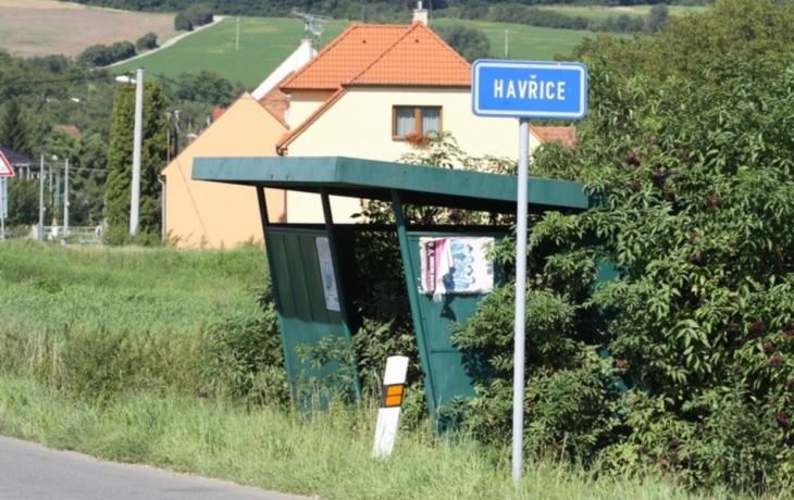 Havřice obnovují zastávku autobusů