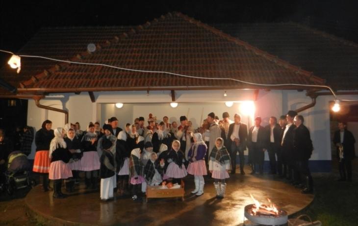 Vánoční zpívání v dolněmčanském muzeu