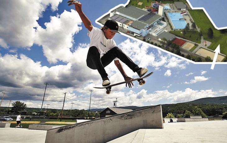 V areálu hradišťského aquaparku vyroste nový skatepark! Opozici a finančnímu výboru natruc
