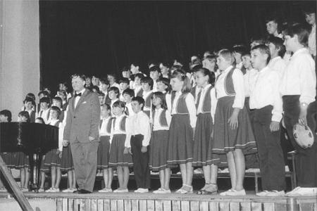 Dětský sbor oslaví třicetiny