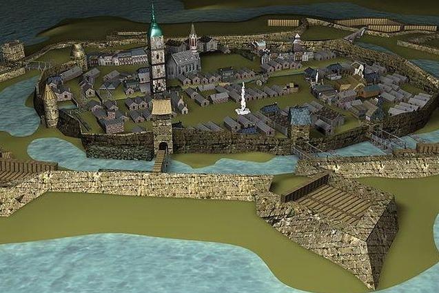 Virtuální prohlídku z roku 1670 oživí postavy
