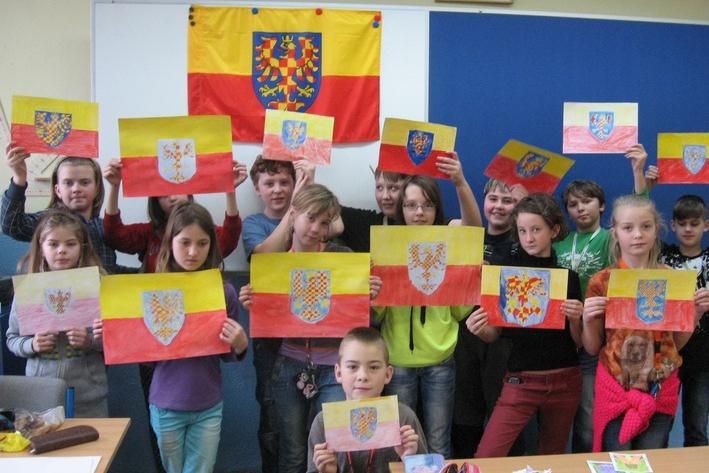 Moravskou vlajku vyvěsí na 31 místech