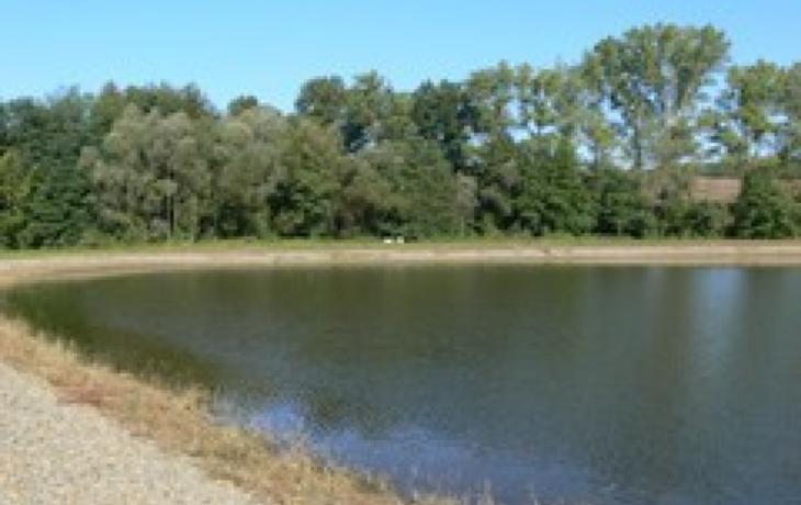 Pašovice chystají u rybníka mobiliář i s parketem