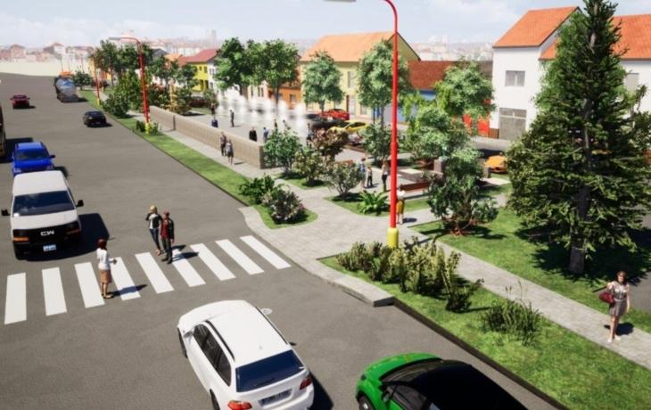 Lidé mají šanci ovlivnit podobu ulice Hradišťská. Vznikne sedm fontán?