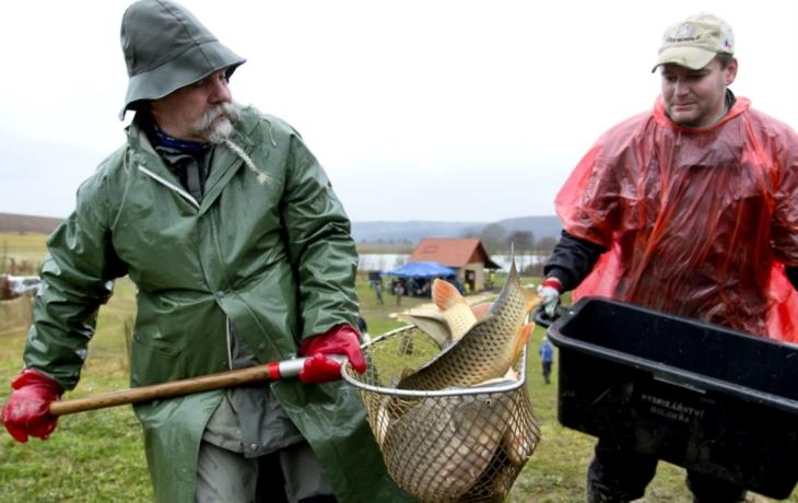 Rybáři z Prakšic a Pašovic už mají vánoční prodej za sebou