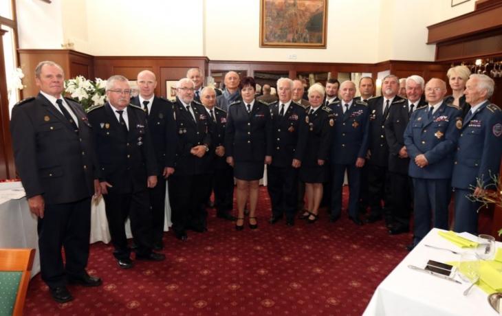 Děkovali dobrovolným hasičům