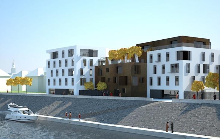U řeky Moravy vyrostou lukrativní byty