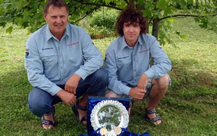 Muškaři přivezli na Slovácko dvě zlaté