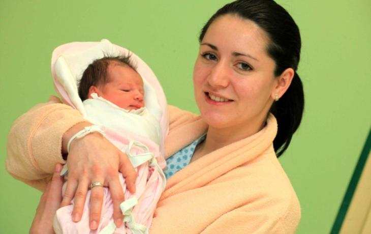 Nicol, první dítě roku