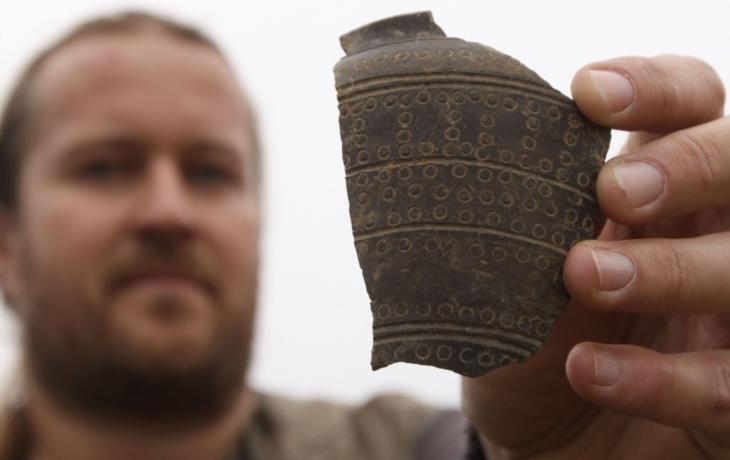 Objev u Polešovic: hrnčířský kruh měli už Keltové
