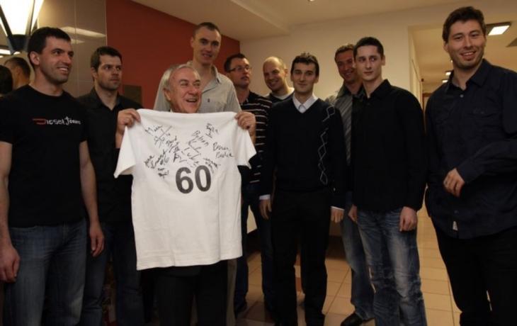 Volejbalový šéf ze Širůchu slavil šedesátiny