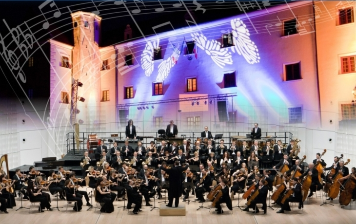 Zámecké nádvoří rozezní zlínská filharmonie
