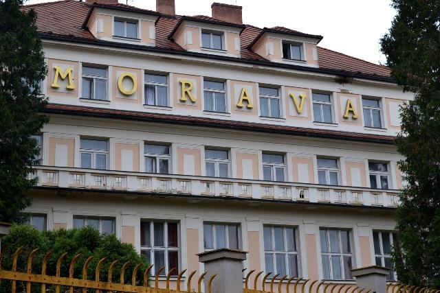 Lázeňský hotel Morava je stavbou roku