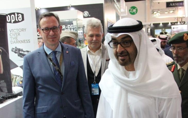 Zbrojovka chystá kontrakt v Emirátech, jméno firmy se tají