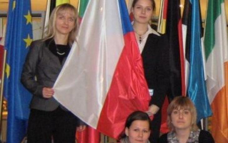 Studentky navštívily Brusel