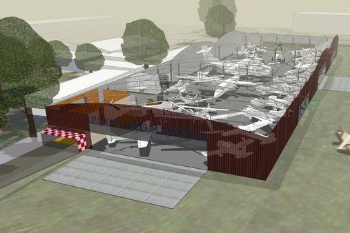 Letecké muzeum může být pýchou, ale bez hangáru se neobejde