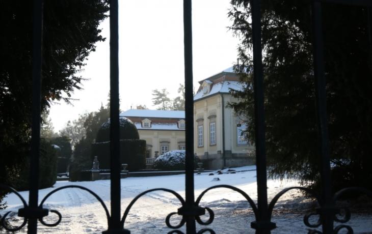 Zámecký park se uzavřel, až do konce února