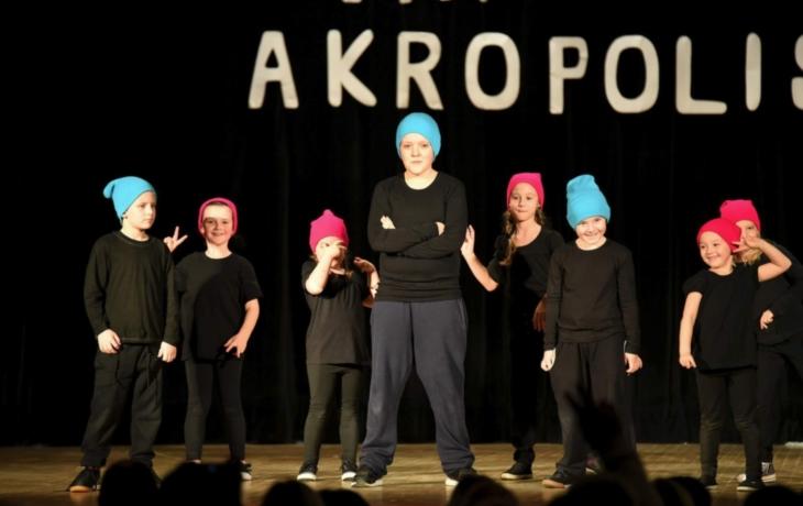 Dětská bezprostřednost a radost, to bylo vánoční vystoupení centra Akropolis