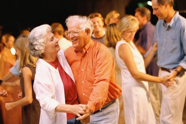 Ples seniorů osmnáctiletý