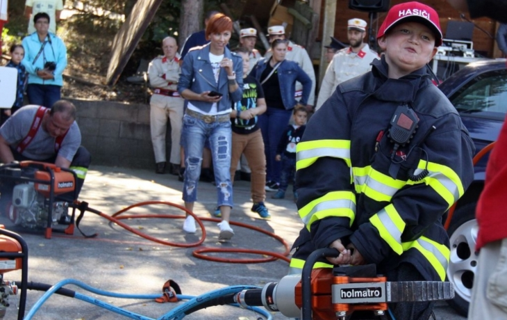 V Tučapech slavili hasiči stovku