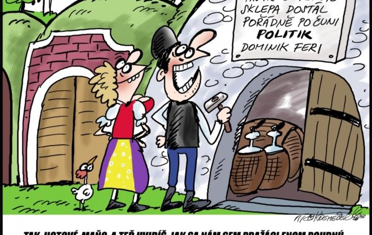 Na Slovácku se facky řeší u štamprle. Opilý poslanec ale zavolal policii
