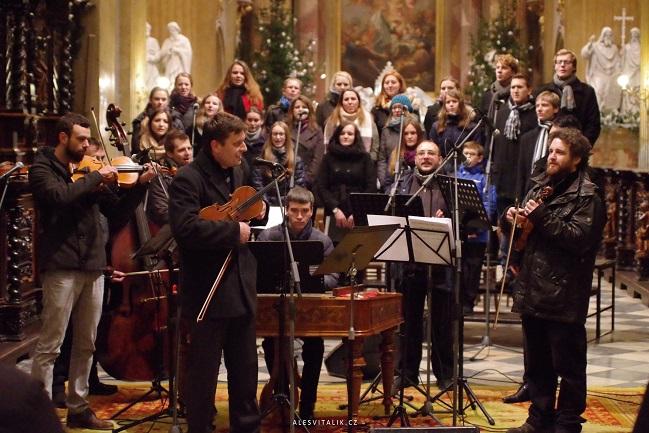 Cifra a Viva la musica v bazilice