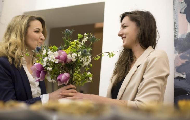 Postmoderní květiny v Galerii Baila