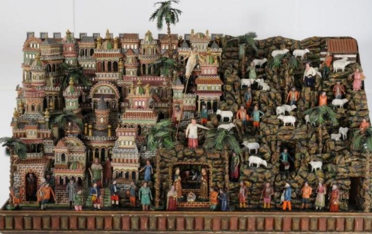 Galerie Slováckého muzea je už plná betlémů