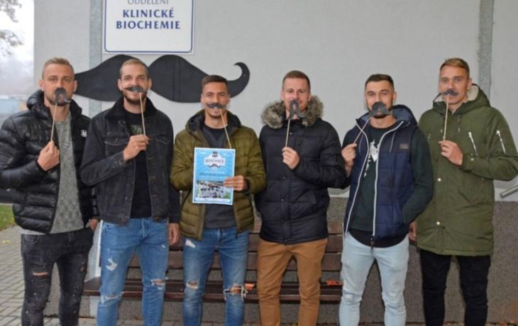 Daníček a spol. podpořili Movember