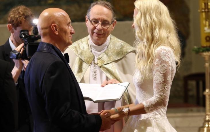 Ivo Valenta se oženil