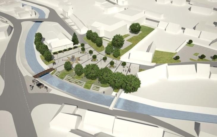 Bojkovice chystají stavbu svého prvního náměstí