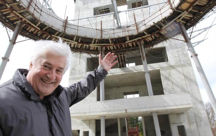 Goropevšek přijel zkontrolovat budoucí dominantu St. Města