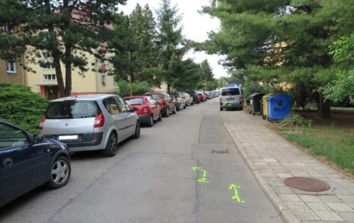 V hradišťské ulici Jana Žižky se srazili cyklisté. Nebyli jste náhodou u toho?