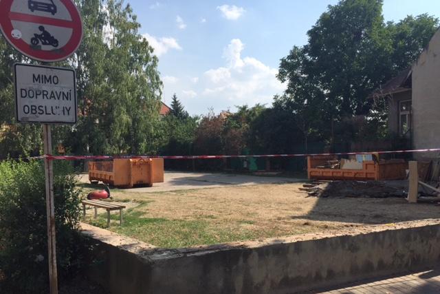 Hřiště Na Splávku oživí lanový prvek