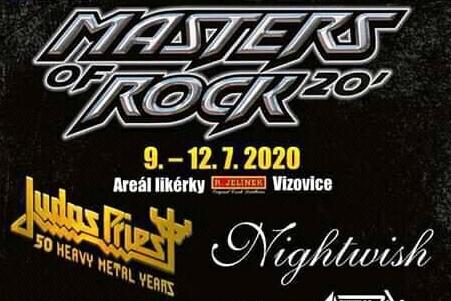 Judas Priest hvězdou Masters od Rock!