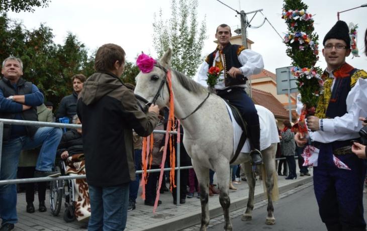 Pro stárku si přijel na koni