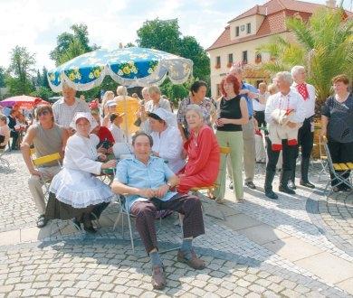 Buchlovičtí stárci vzpomínali na náměstí