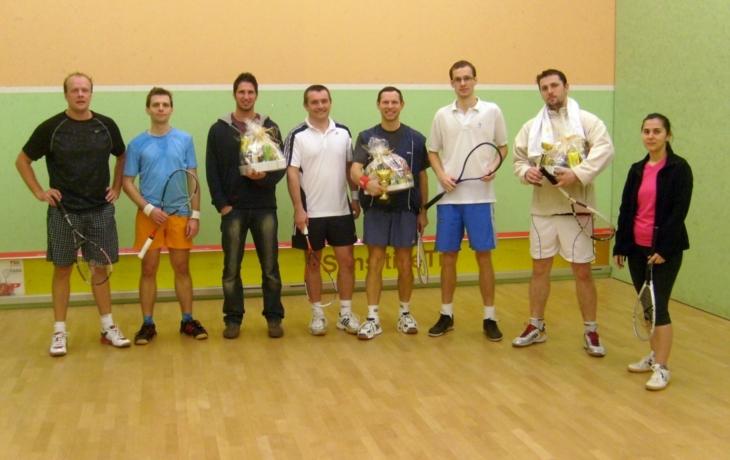 Squashová liga: Obhájil Cetkovský