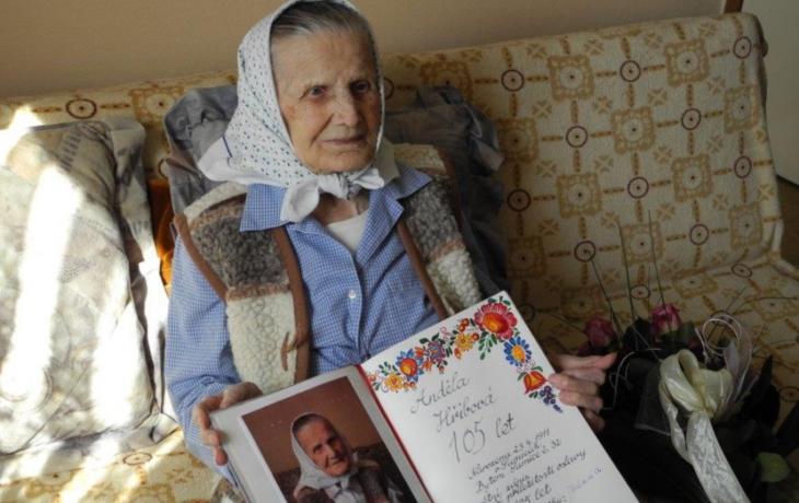 Zemřela Anděla Hřibová, nejstarší obyvatelka Slovácka