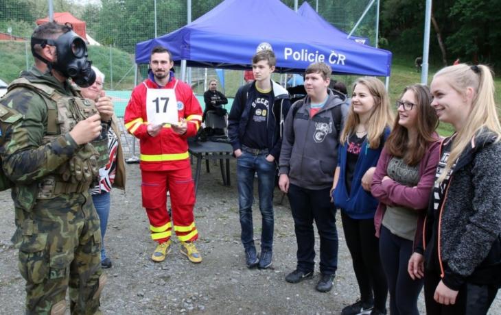 Záchranáři prověřili znalosti osmáků