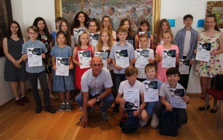 Mladí autoři převzali ceny v Galerii Joži Uprky