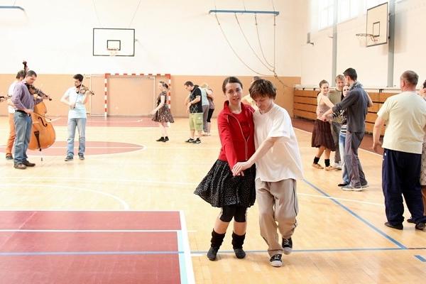 V Uherském Brodě se učily lidové tance