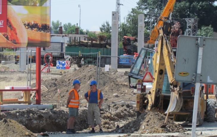 O veselské staveniště se zajímají archeologové, stavba dál pokračuje