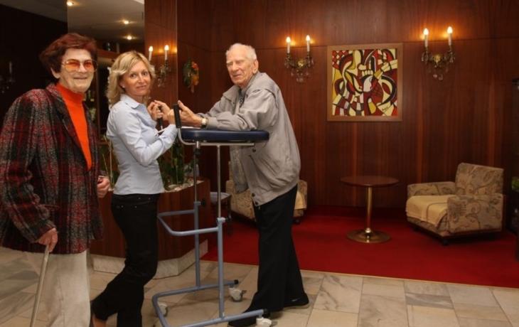 Penzion Spokojené stáří nabízí kompletní služby i stravu. Ale není to zadarmo