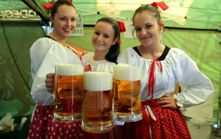 Hradiště ožilo pivním festivalem